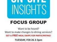Dining Services Focus Group