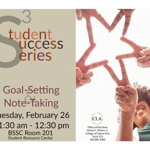 Student Success Series: Goal Setting & Note-Taking