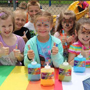 Sibs N Kids: Create your own sandy candy art!