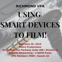 USING SMART DEVICES TO FILM