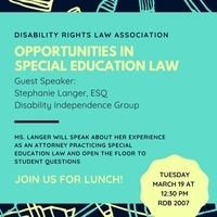 DRLA - Opportunities in Special Education Law