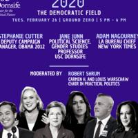 2020: The Democratic Field