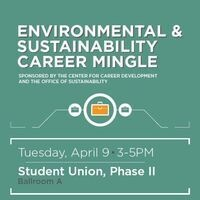 Environment and Sustainability Career Mingle
