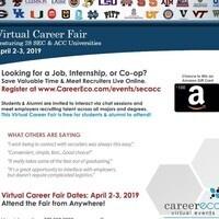 SEC & ACC Virtual Career Fair