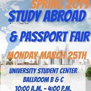 Spring Study Abroad & Passport Fair