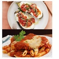 C-Cubed Luncheon- Grilled Chicken and Eggplant Parmesan