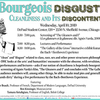 Bourgeois Disgust: Cleanliness and its Discontents