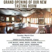 Grand Opening of the Taber Ranch Tasting Room