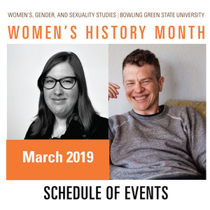 Women's History Month Schedule of Events - March 2019