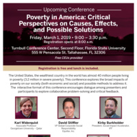 Poverty in America: Critical Perspectives on Causes, Effects, and Possible Solutions