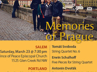Delgani String Quartet Presents: Memories of Prague