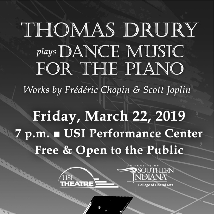 Faculty Piano Recital: Thomas Drury at Performance Center