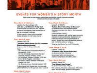 Women's History Month Kick-Off Luncheon