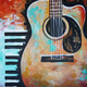 Paint and Sip: 4/13: Guitar and Keys ~ Ages 21 and up ~