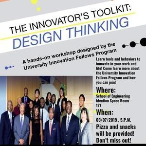University Innovation Fellows Design Thinking Workshop