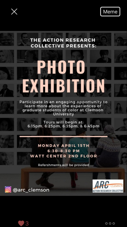 #MyClemsonTruth: A Photo Exhibition
