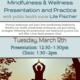 Mindfulness & Wellness Presentation