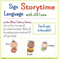 Sign Language Storytime