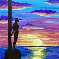Paint and Sip: 4/16: Santa Cruz Surfer ~ Ages 21 and up ~
