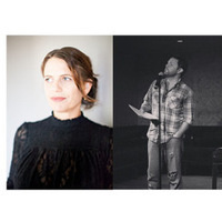 Poetry reading: Anna Moschovakis and Ryan Eckes