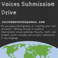 International Voices Submission Drive | International Center for Academic and Professional English