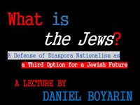 "What is ""the Jews""?"