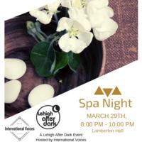 Spa Night   Lehigh After Dark