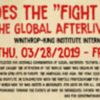 """Winthrop-King's """"Global Afterlives of May '68"""" Conference"""