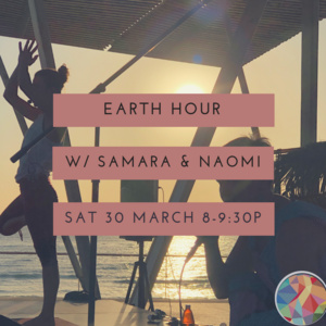 Earth Hour Yoga and Kirtan