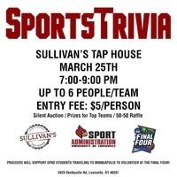 Sports Trivia Fundraiser