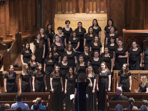 Women's Choral Ensemble at Heinz Chapel
