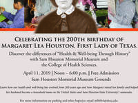 Margaret Lea Houston's 200th Birthday Celebration