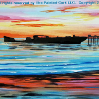 Paint and Sip: 4/19: Cement Ship ~ Ages 21 and up ~