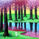 Paint and Sip: 4/20: Spring Trees and Pond ~ SPRING SPECIAL ONLY $35 ~ Ages 21 and up ~