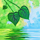 Spring Leaves ~ HAPPY EARTH DAY ~ ONLY $30~ Ages 21 and up ~