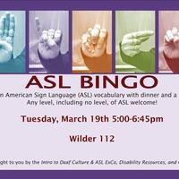 ASL Bingo