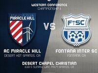 AC Miracle Hill vs. Fontana Inter SC