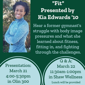 Q&A with Kia Edwards '10