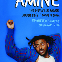 Aminé: Presented by UofL SAB and Production Simple