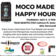 MoCo Made Happy Hour at True Respite