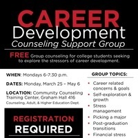 Career Development Counseling Support Group