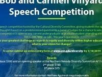 Bob and Carmen Vinyard Speech Competition
