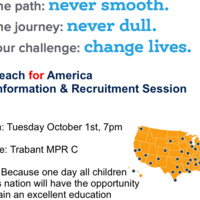 Teach for America Recruitment Session