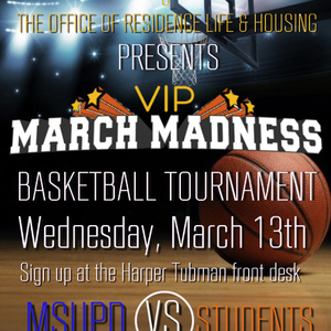 MSU Police VIP March Madness Basketball Tournament