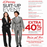 JCPenney Suit-Up Event!