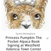 Princess Pumpkin The Pocket Alpaca Book Signing