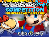 Mario Kart Competition! Win 50! $4 Beers and Drinks!