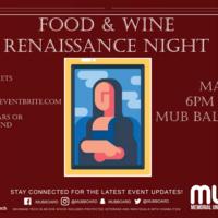 Food & Wine 2019 Renaissance Night