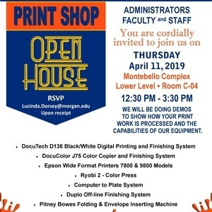 MSU Print Shop Open House