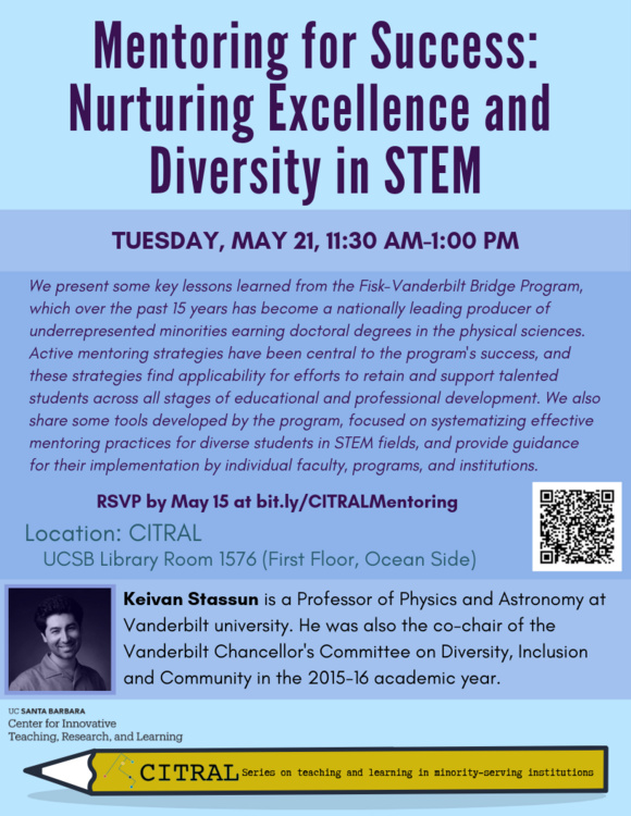 Mentoring for Success: Nurturing Excellence and Diversity in STEM